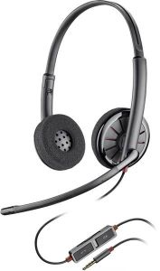 Plantronics Headset Blackwire C225 binaural 3,5 mm