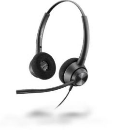 Poly Plantronics EncorePro 320, QD - 300 Series - Headset - On-Ear - kabelgebunden - Quick Disconnect