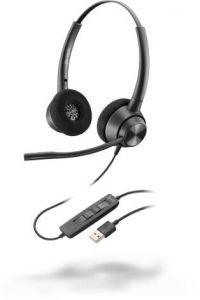 Poly EncorePro 320, USB-A - 300 Series - Headset - On-Ear - kabelgebunden - USB