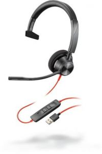 Poly Blackwire C3310 USB-A Headset monaural