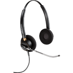 Plantronics Headset EncorePro binaural HW520V (Voice Tube)
