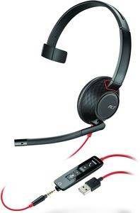 Plantronics Blackwire C5210 monaural USB & 3,5mm