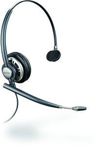 Plantronics Headset EncorePro HW710 , Kopfbügelmodell, monaural, Noise Cancelling