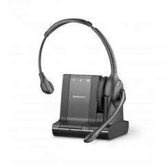 Plantronics Savi W710/A , 3in1 , Kopfbügel-Headset moaural , UC , DECT