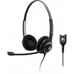 Sennheiser Headset SC 262 für Gigaset DECT Telefon, Smartphones mit 2,5mm Klinke