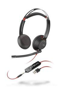 Plantronics Blackwire C5220 binaural USB & 3,5mm