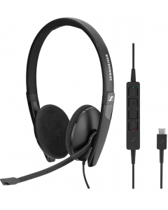 Sennheiser SC 160 USB-C binaural mit Call Control am Kabel