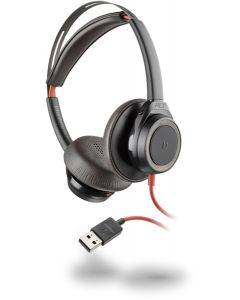 Plantronics Headset Blackwire C7225 binaural USB ANC - schwarz