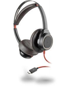 Plantronics Headset Blackwire C7225 binaural USB-C ANC (schwarz)