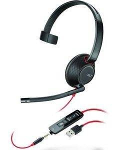 Plantronics Blackwire C5210 monaural USB & 3,5mm