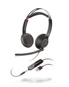 Plantronics Blackwire C5220 binaural USB & 3,5mm